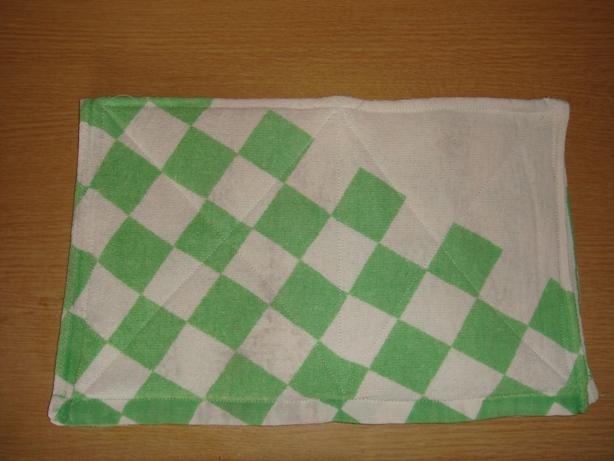 雑巾1枚目